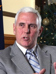 Indiana Gov. Mike Pence is pondering a White House run  and that is focusing attention on his legislative priorities for 2015: education reform and tax code changes.