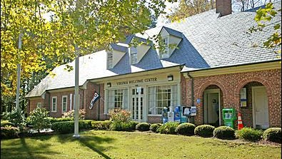 The Virginia Welcome Center in New Church.