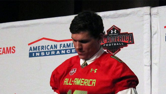 Re-securing a commitment from Under All-America tight end Chris Clark is a big goal for U-M's next coach.