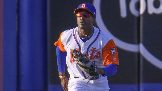 Christ School graduate Champ Stuart is an outfielder in the New York Mets organization.