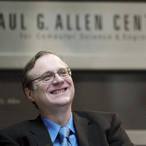 Future of Paul Allen's big investments uncertain