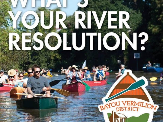 At the start of the year, Bayou Vermilion District encouraged locals to #RepTheRiver by paddling and boating, fishing, being conscious of what goes into storm drains, recycling and more. The organization offers a variety of events enabling locals to #RepTheRiver in different ways.