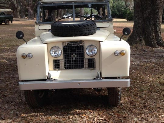 This 1963 Land Rover was part of the inaugural Rover Rally during the Plantation Wildlife Arts Festival in November.
