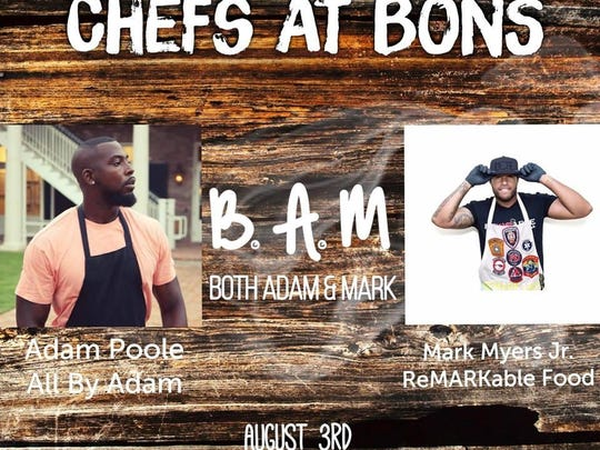 Chefs at Bons