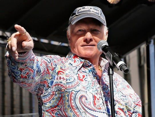 Mike Love of the Beach Boys.