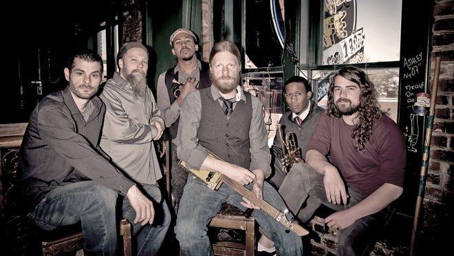 The Ghost Town Blues Band plays Thursday, Sept. 22 at Crash Music in Aztec.