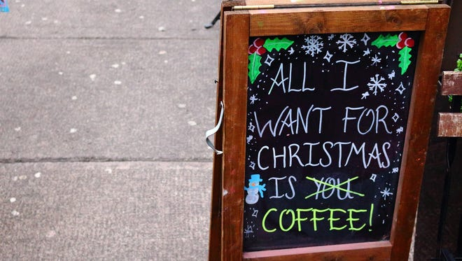 All I want for Christmas is... coffee