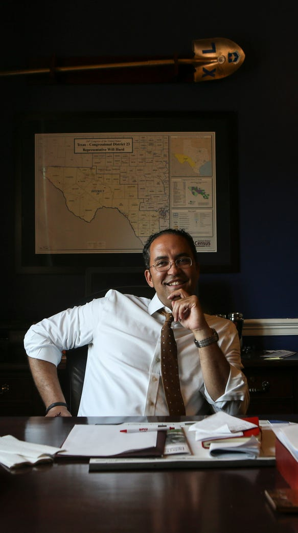 Rep. Will Hurd at his congressional office on June