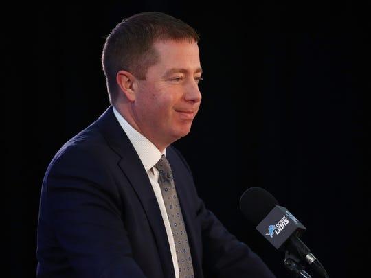 Detroit Lions Introduce Matt Patricia