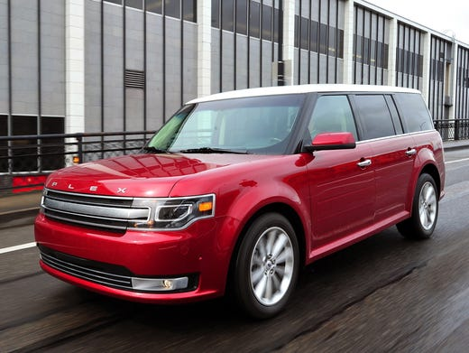 The  Ford Flex Is A Three Row Seven Passenger