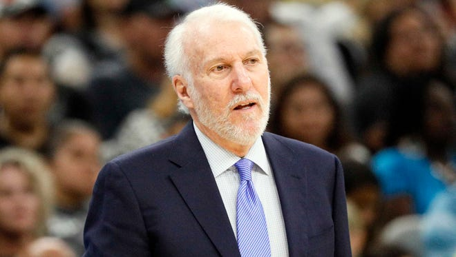 Could Spurs coach Gregg Popovich have a career in politics?