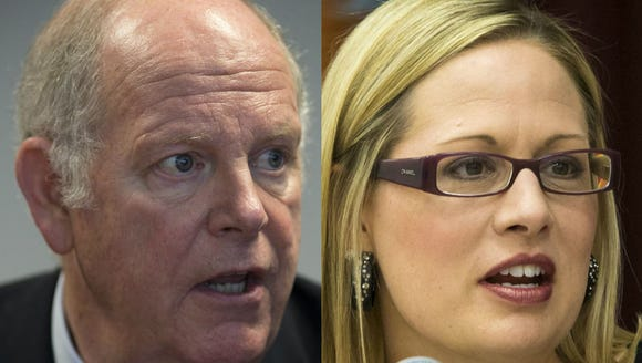 Rep. Tom O'Halleran and Rep. Kyrsten Sinema