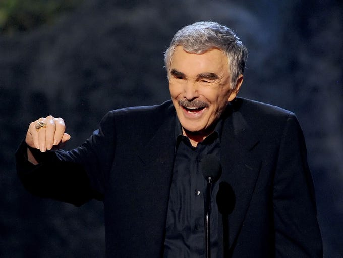 "Sept. 6: Burt Reynolds, the star of films such as ""Deliverance"","