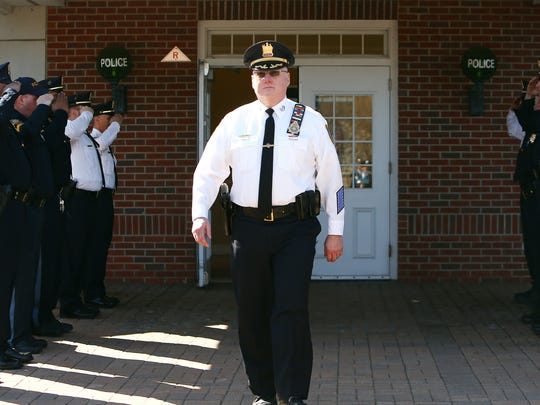 Walkout ceremony for retiring Parsippany Police Chief