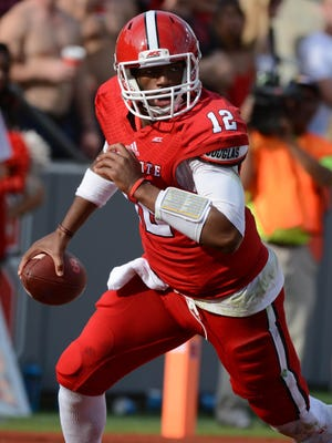 N.C. State quarterback Jacoby Brissett threw for 2,606 yards and 23 touchdowns last season.
