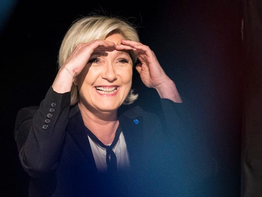 Marine Le Pen, French presidential election candidate