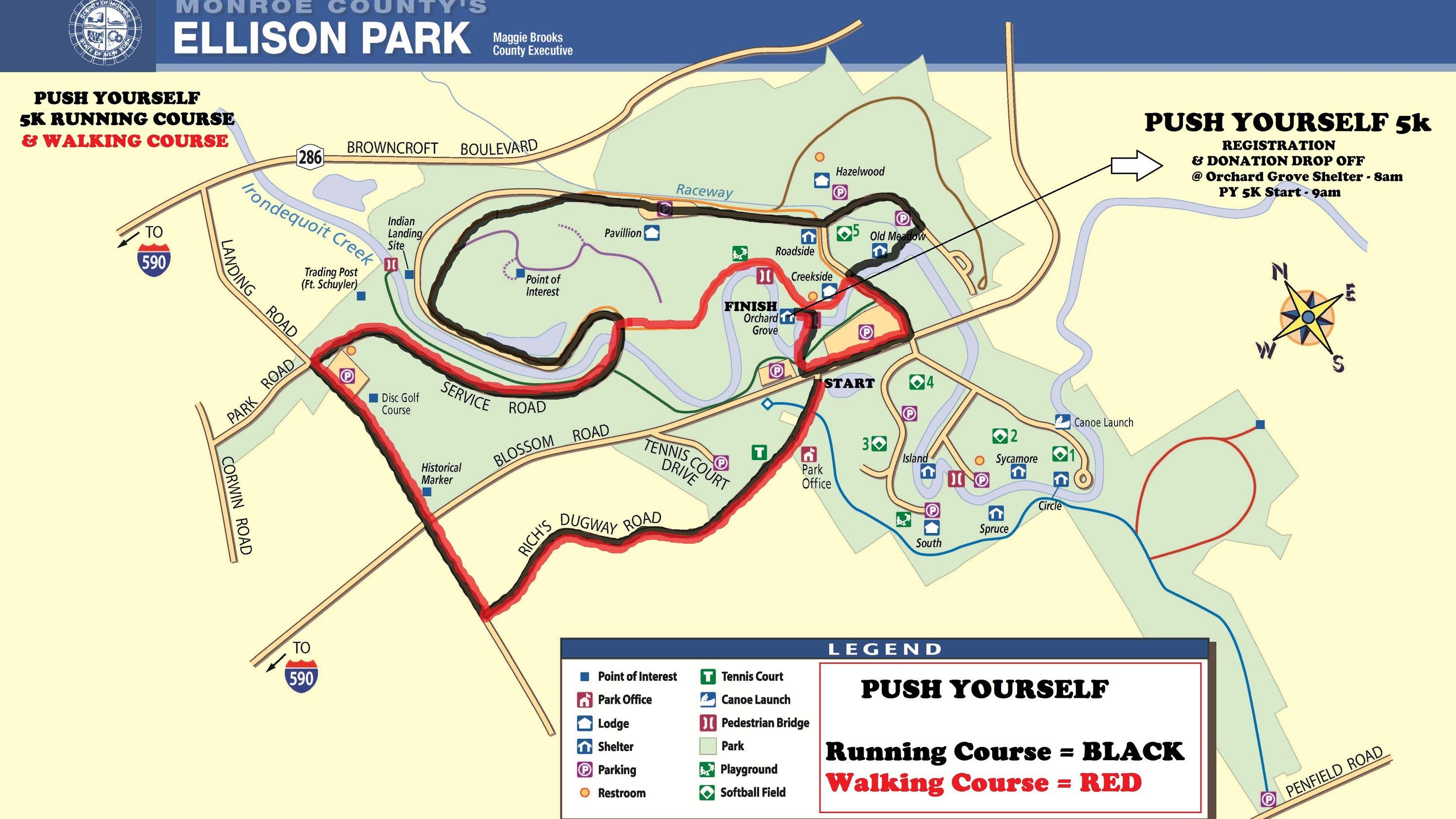 Ellison Park 5k Encourages Participants To Push Yourself