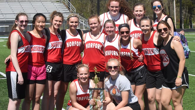 Conference champion Norfork Lady Panthers