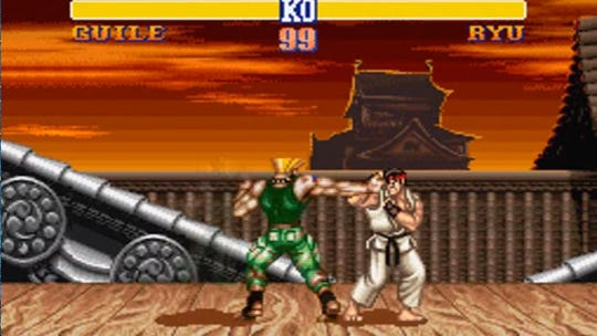 Street Fighter II comes in at No. 9 on the list.