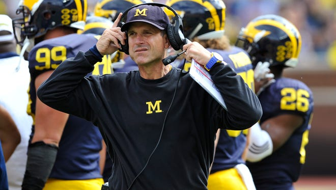 Jim Harbaugh has Michigan No. 7 in the AP preseason Top 25.