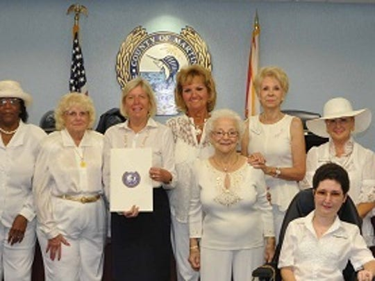 GFWC Woman's Club of Stuart members celebrated the