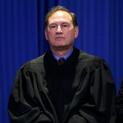 Supreme Court Justice Samuel Alito joined colleagues at the State of the Union address in 2010 -- his last time at the event.