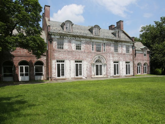 The 1920s Colonial mansion in Purchase, known as Beechwood