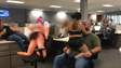 This image shows graphic content of a sex party at