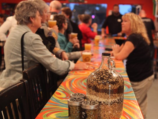 Visitors to the Cape Coral Brewing Co. were given an