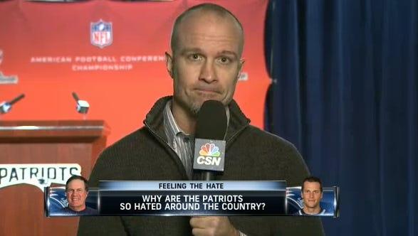 Gregg Doyel on Comcast SportsNet New England.