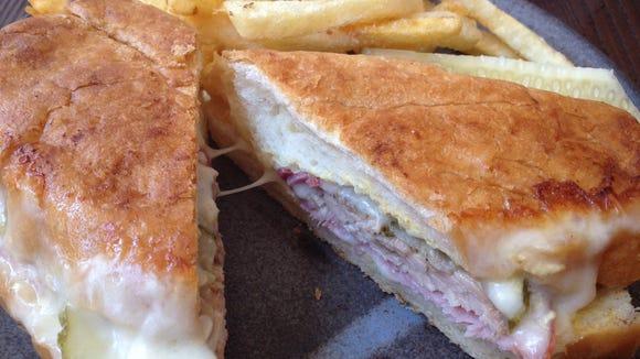 The Cubano sandwich at Salazar.