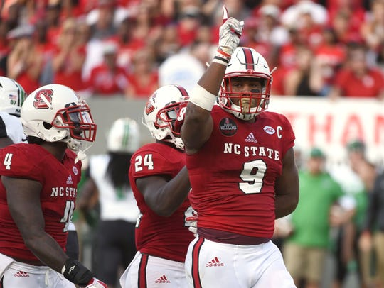 6. Colts (from Jets) — Bradley Chubb, DE, North Carolina