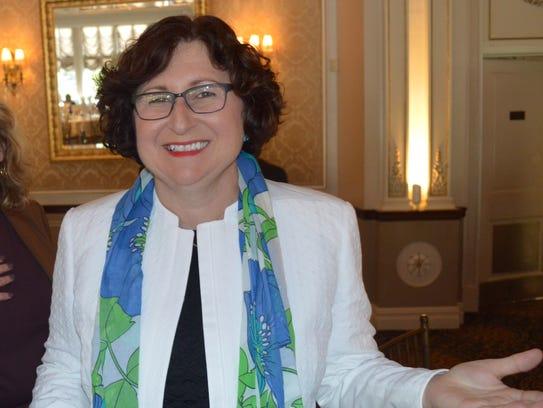 County Legislator MaryJane Shimsky had been rebuffed
