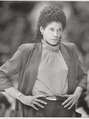 University of Iowa women's basketball coach C. Vivian