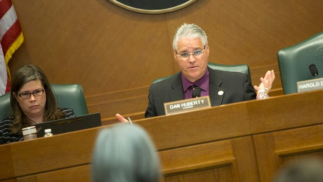 Texas Rep. Dan Huberty, R-Houston, during a March 7 House Public Education meeting.