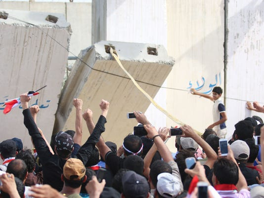 Protests Baghdad