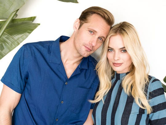 Alexander Skarsgård and Margot Robbie put a new face
