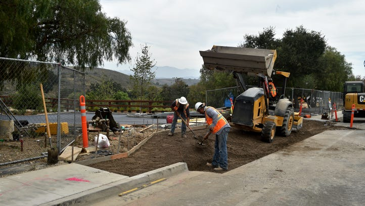 Construction of Sapwi Trails Park in Thousand Oaks on schedule for fall opening