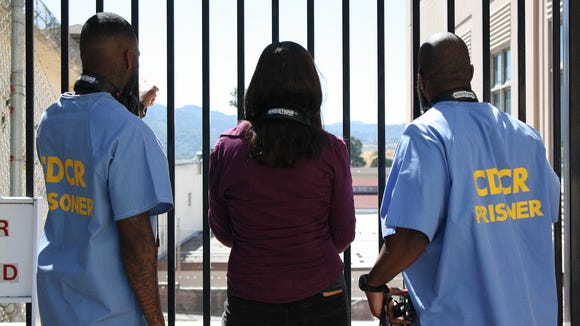 San Quentin State Prison inmates Earlonne Woods and