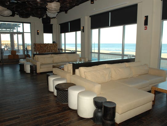 The Watermark Lounge in Asbury Park  boasts a stunning