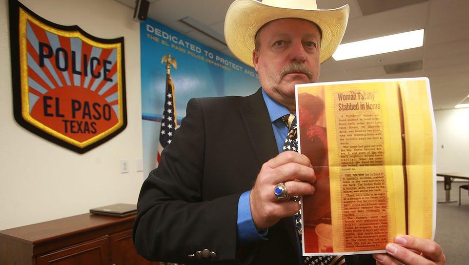 El Paso Police Department Detective Michael Aman showed