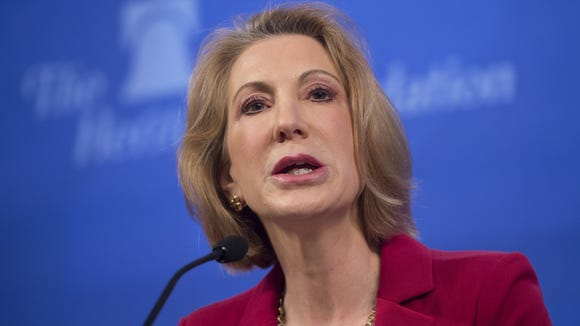 Former Hewlett-Packard CEO Carly Fiorina, a potential 2016 presidential candidate on the Republican side, will speak at the Delaware GOP convention in May.