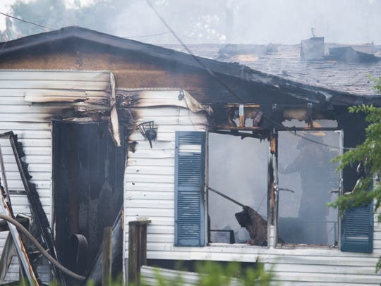 Rural Metro responds to a house fire on Candora Ave.