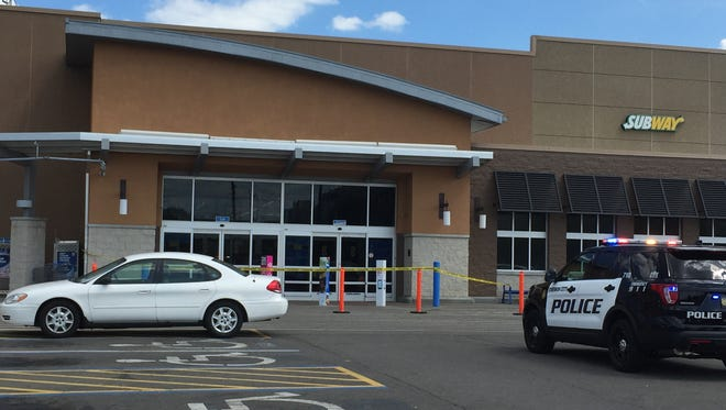 Johnson City police responded to the Wal-Mart store on Gannett Drive Tuesday afternoon.