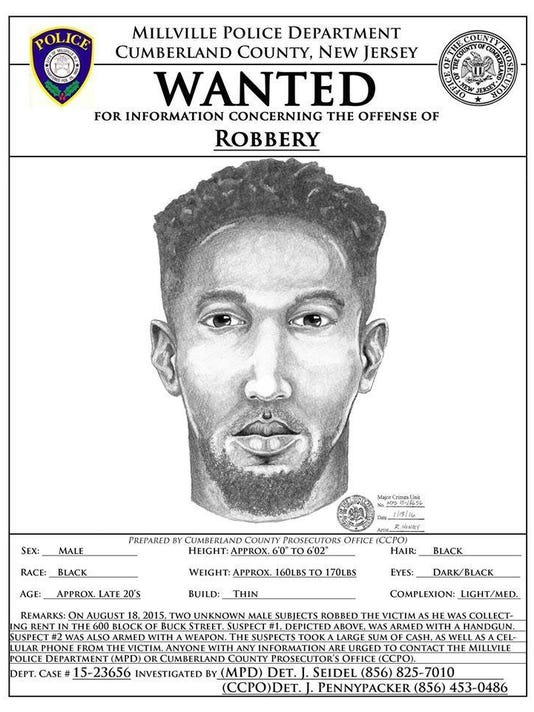 Millville wanted poster