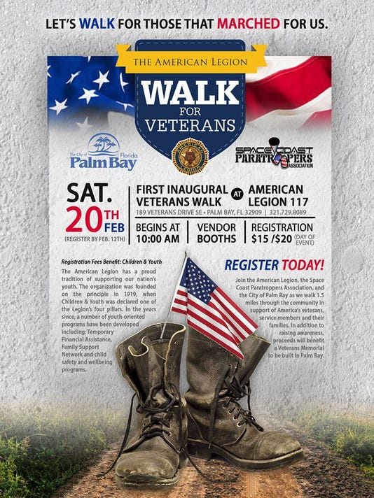 Palm Bay Walk for Veterans