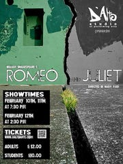 "D'Alto Studios is putting on ""Romeo and Juliet"" this weekend."