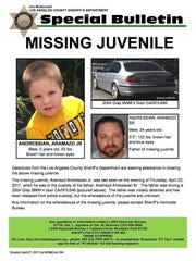 Search for missing South Pasadena boy, Aramazd Andressian Jr., to expand to Ojai and Ventura
