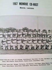 The 1967 Monroe Dixie Senior World Series champions.