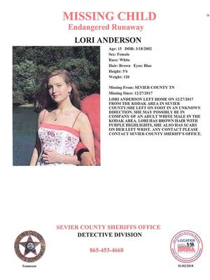 An endangered runaway alert has been issued for a 15-year-old Sevier County girl.